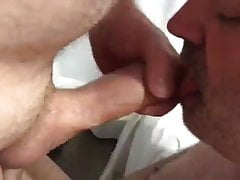 Hairy Bears Play: BJ-Throatfuck-BB -ATM-HJ-BB-HJ-Balls Lick