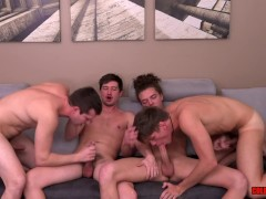Hot Raw Orgy with Troy Acolla and Newcomer Jack Valor