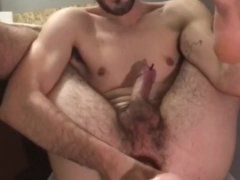 Tyler Joseph Burt slams his stretched hole with a fat cock